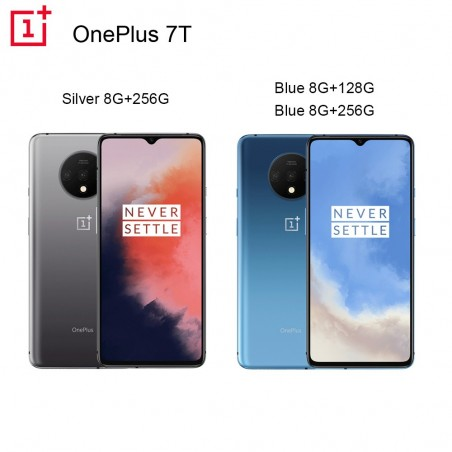 Oneplus 7T 8GB 128GB 256G Smartphone Snapdragon 855 Plus Octa Core 90Hz AMOLED Screen 48MP Triple Cameras