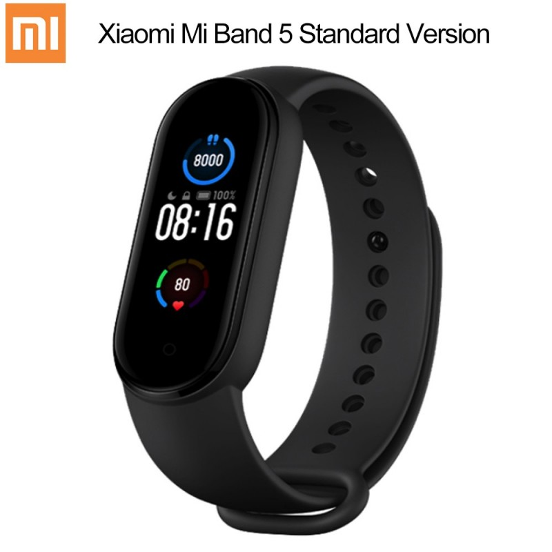 Xiaomi Band 5 Mi Band 5 Smart Wristband  Remote Camera 1.1 inch Color Screen Wristband with Magnetic Charging
