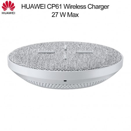 HUAWEI CP61 Wireless Charger 27W Max Qi Wireless Charger Super Charge for Huawei P30 Pro Mate 20 RS Pro iPhone 11