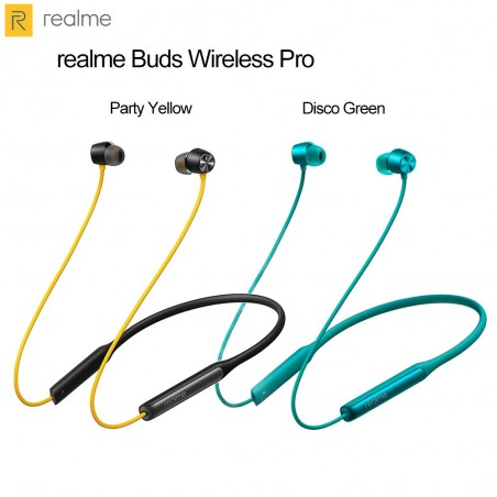 Realme Buds Wireless Pro Active Noise Cancellation (ANC) In-Ear Bluetooth Headphones with Mic
