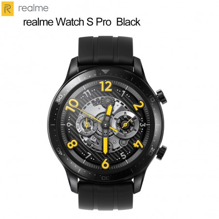 """Realme Watch S Pro Smart Watch 1.4"""" Large AMOLED Touchscreen, SpO2, Continuous Heart Rate Monitor"""