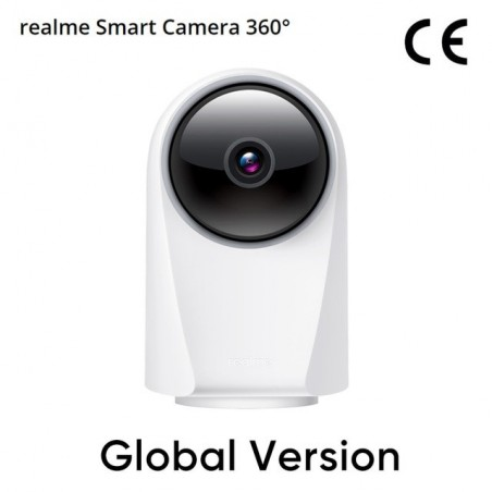 Realme Smart Cam 360° Vision 24/7 Protection 1080p Video Recording AI Detection Monitor Infrared Night Vision Video Surveillance