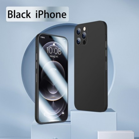 For iPhone 12 case 2021 new 360° all-around package lens protect toughened glass softcover iPhone 12 Pro Max mobile phone cover